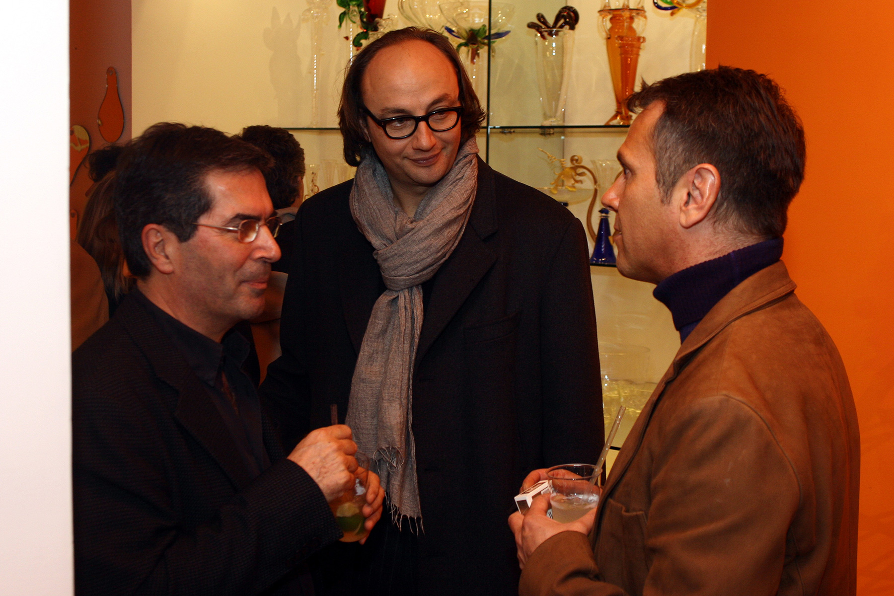 i designer brasiliani humberto e fernando campana a Roma