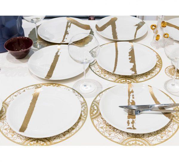 antonia astori e giandomenico sozzi disegnano per driade servizio di piatti