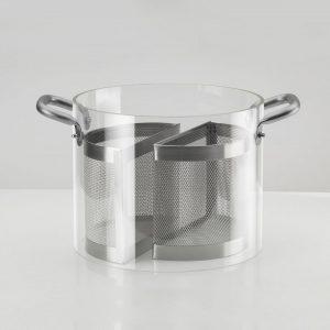 AD knindustrie settore per pentola glass pot