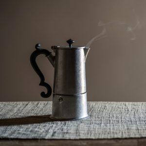 AD knindustrie caffettiera in alluminio