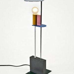 AD memphis lampada in metallo