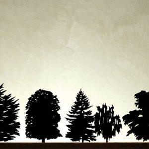 AD produzione privata alberi in scala di michele de lucchi