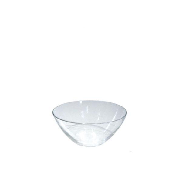 oggetti da tavola driade in vetro trasparente