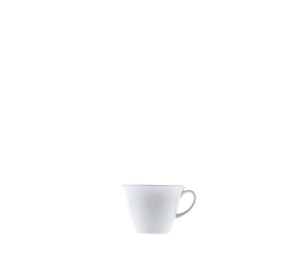 servizio da tavola in porcellana bianca