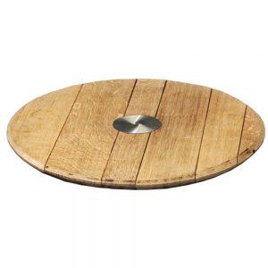 vassoio in legno di botte